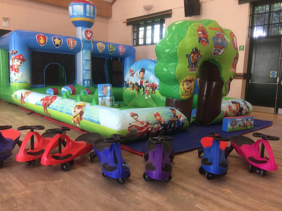 Bouncy castle hire weymouth